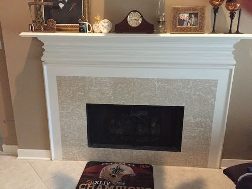 Fireplace And Floor Re Model Before Primetech Roofing
